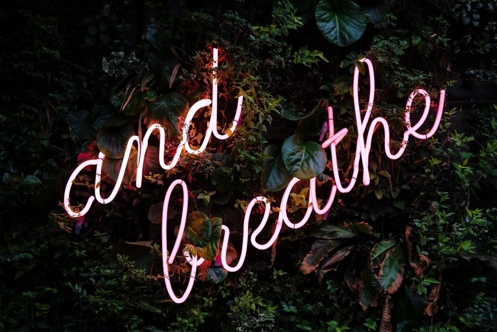 Breathing is a great way to bring your hypnobirthing self to work